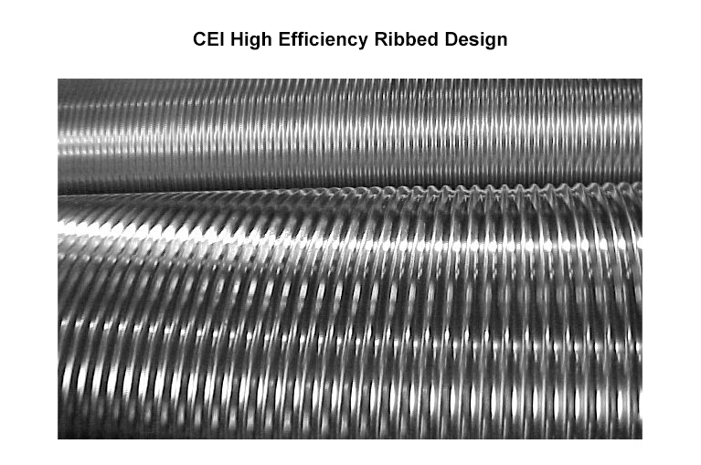 Carmel Engineering - CEI High Efficiency Ribbed Design