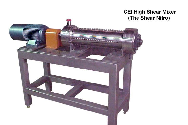 Carmel Engineering - CEI High Shear Mixer