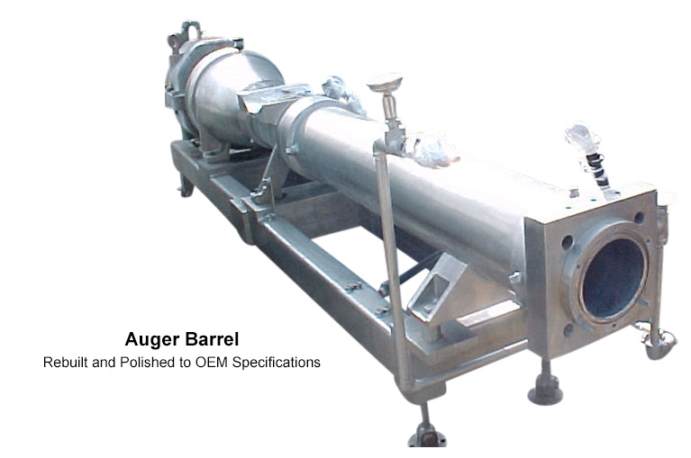 Carmel Engineering - Auger Barrel