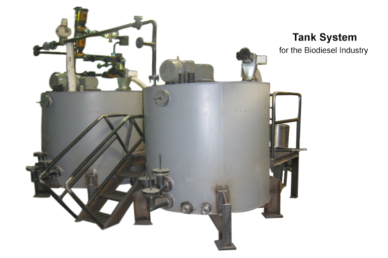 Carmel Engineering - Tank System